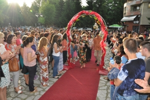 Summer theater festival in Razlog