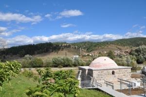 The Turkish bath in the village of Banya