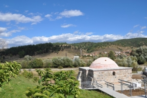 The Turkish bath in the village of Banya
