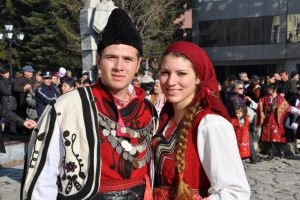 "Jump back in time  ""Explore Razlog in traditional costume"""