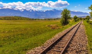 Balkan alpine railway